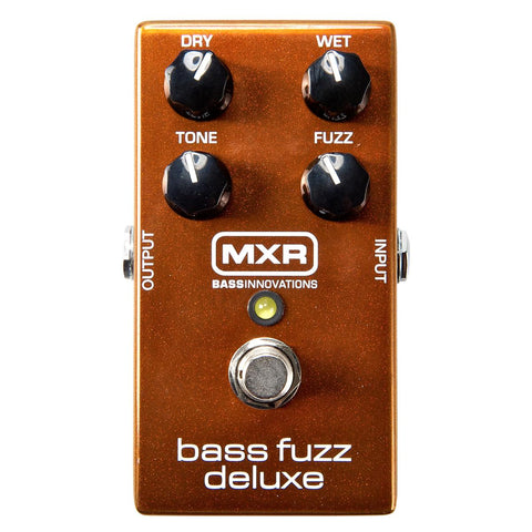 MXR M84 Bass Fuzz Deluxe Pedal - CBN Music Warehouse