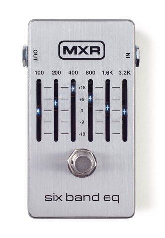 MXR M109S Six Band EQ Pedal - CBN Music Warehouse