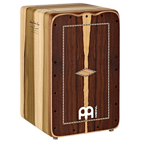 Meinl AEMLBI Artisan Edition Martinete Line Brazilian Ironwood Cajon With Ukola Woodframe - CBN Music Warehouse
