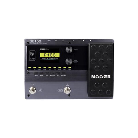 Mooer GE150 Amp Modeling and Multi Effects Pedal - CBN Music Warehouse