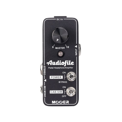 Mooer Audiofile Headphone Amplifier - CBN Music Warehouse