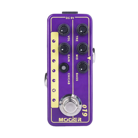 Mooer UK Gold PLX Micro PreAmp Pedal - CBN Music Warehouse