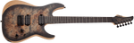 Schecter Reaper-6 Satin Charcoal Burst Electric Guitar - CBN Music Warehouse