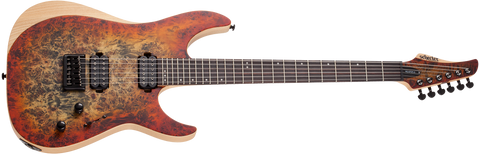 Schecter Reaper-6 Satin Inferno Burst - CBN Music Warehouse