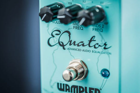 Wampler Equator Advance Audio Equalization Pedal - CBN Music Warehouse