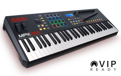 Akai Professional MPK 261 - Performance Keyboard Controller - CBN Music Warehouse