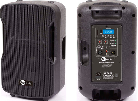"MJ AUDIO BP13-10A 400W RMS 12"" 2-WAY ACTIVE DJ SPEAKER WITH BLUETOOTH/MP3/USB/SD - CBN Music Warehouse"