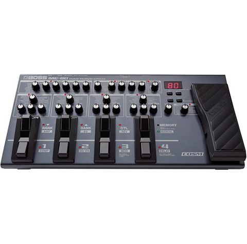 Boss Guitar Multi-effects ME80 - CBN Music Warehouse