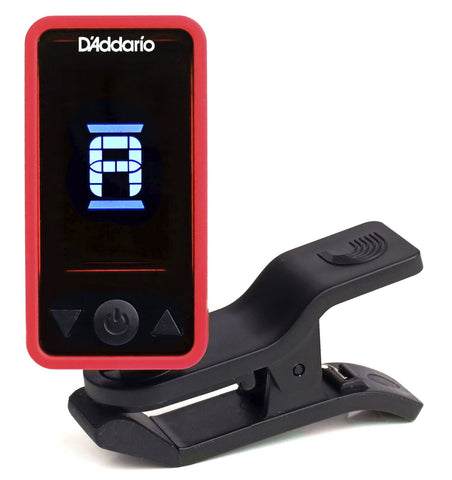 D'Addario Planet Waves Eclipse Headstock Tuner PW-CT-17RD Red - CBN Music Warehouse