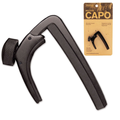 D'Addario (PW-CP-07) NS Lite Capo Pro - Black - CBN Music Warehouse
