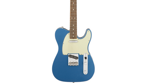 Fender American Original '60s Telecaster Rosewood Fingerboard Electric Guitar Lake Placid Blue - CBN Music Warehouse