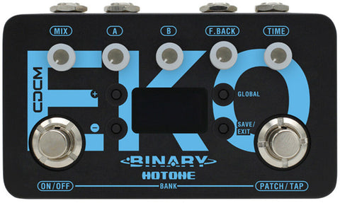 Hotone BDL-1 Binary Eko Modulation Effects Pedal - CBN Music Warehouse