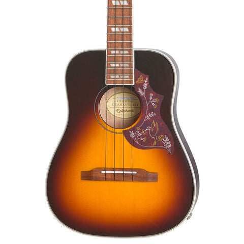 Epiphone Hummingbird Tenor Ukulele - Tobacco Sunburst - CBN Music Warehouse