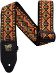 Ernie Ball Santa Fe Jacquar guitar Strap - CBN Music Warehouse