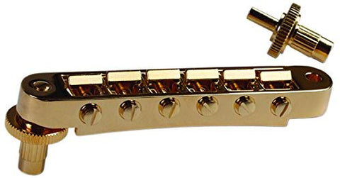 Gibson Nashville Tune-o-matic Bridge, Gold - CBN Music Warehouse