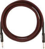 Fender Professional Series Instrument Cables, 10', Red Tweed - CBN Music Warehouse