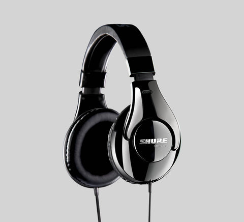 Shure SRH240A Professional Around-Ear Stereo Headphones - CBN Music Warehouse