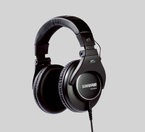 Shure SRH840 Professional Around-Ear Stereo Headphones - CBN Music Warehouse