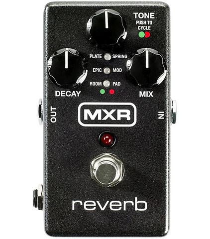 MXR M300 Digital Reverb Guitar Effects Pedal - CBN Music Warehouse