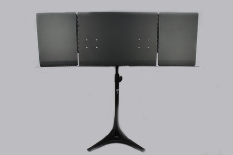 MJ Audio DF048 Metal Sheet heavy duty Music Stand - Black - CBN Music Warehouse