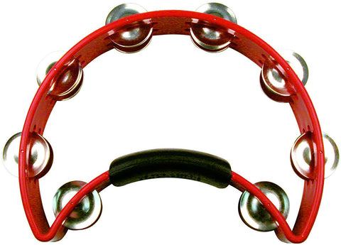 RhythmTech RT1030 Tambourine with Nickel Jingles RED - CBN Music Warehouse