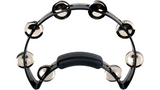 RhythmTech RT1210 Solo Tambourine, Black - CBN Music Warehouse