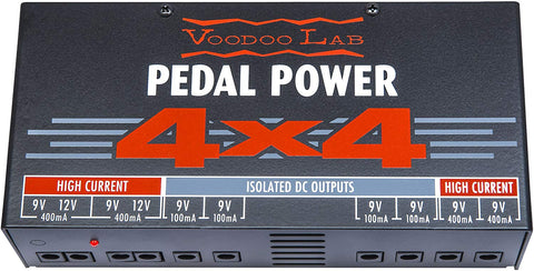 Voodoo Lab 4x4 pedal power suply 120V - CBN Music Warehouse