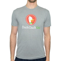 DuckDuckGo Guys Gray Logo T-shirt