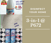 3-in-1 Home Disinfectant's Bundle