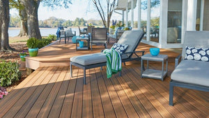 Jatoba Decking Samples
