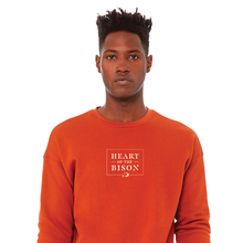 Load image into Gallery viewer, Heart of the Bison - Unisex Sponge Fleece Sweatshirt