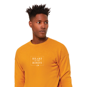 Heart of the Bison - Unisex Sponge Fleece Sweatshirt