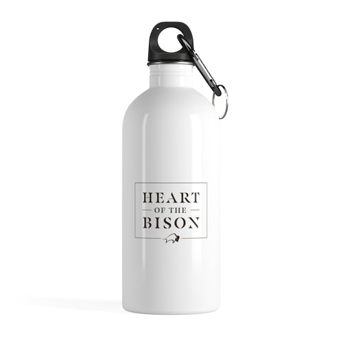 Heart of the Bison™ - Stainless Steel Water Bottle