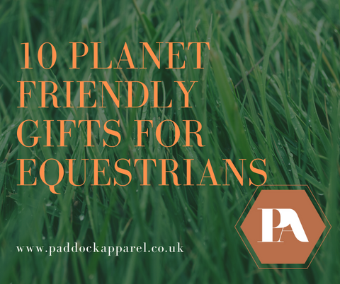 Sustainable Christmas presents for Equestrians - Paddock Apparel