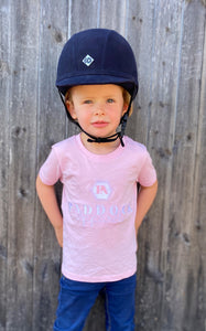 Harper Kids Tee - Cotton Pink