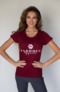 Sowenna Ladies Tee - Burgundy