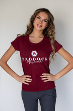 Load image into Gallery viewer, Sowenna Ladies Tee - Burgundy