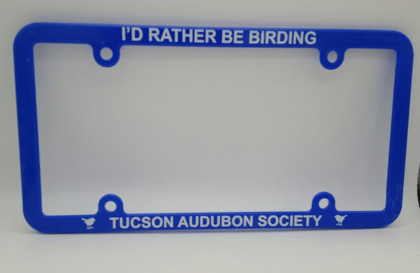 Tucson Audubon License Plate Cover