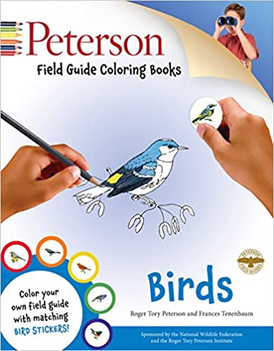 Peterson Field Guide Coloring Books - Birds