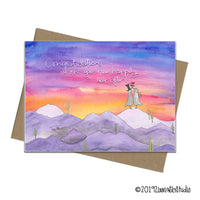 Zinnia Sky Greeting Cards