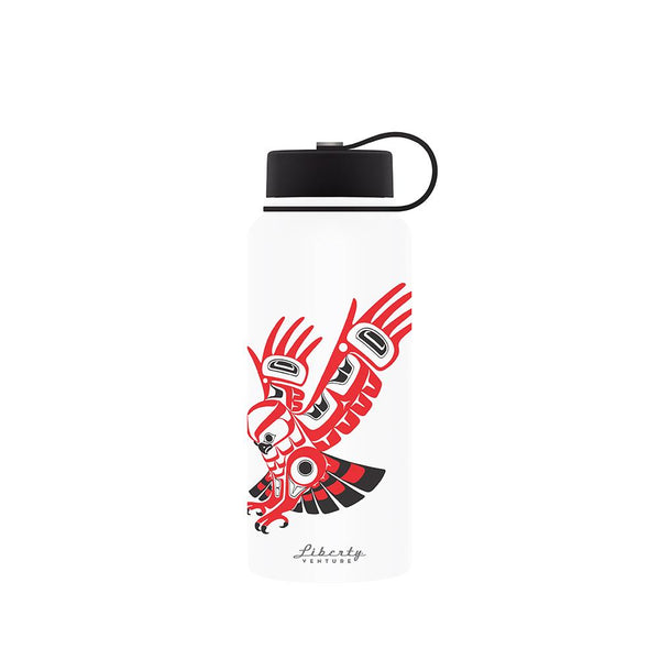 Liberty Double Wall Stainless Steel Insulated Reusable Water Bottle