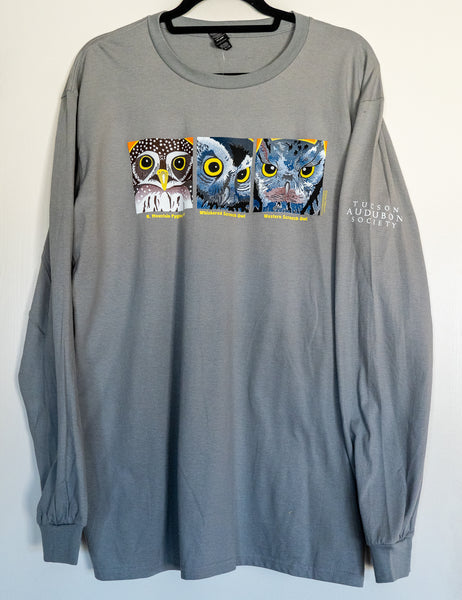 Tshirt Long sleeve 3 Owls