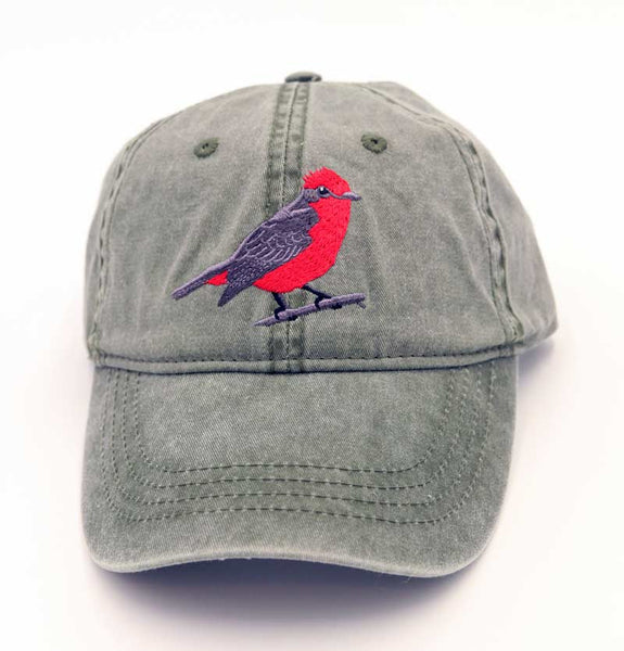 Tucson Audubon Vermillion Flycatcher Hat