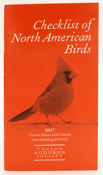 Checklist of North American Birds