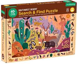 Southwest Desert Search and Find Puzzle