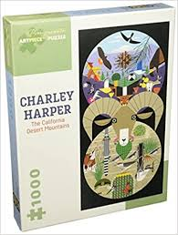 Charley Harper The California Desert Mountains 1000 Piece Puzzle