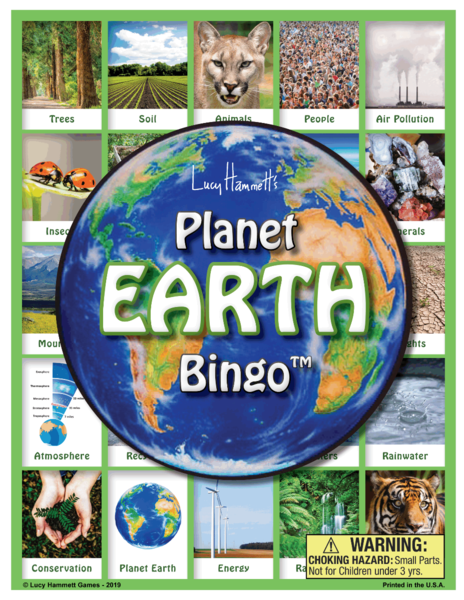 Planet Earth Bingo
