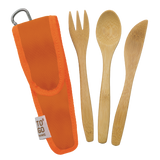 ToGo Wear Reusable Bamboo Utensil Set for Kids