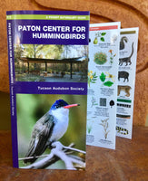 Paton Center for Hummingbirds: A Folding Pocket Naturalist Guide