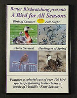 Better Birding DVD A Bird for ALL Seasons
